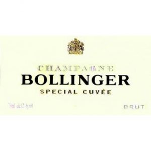 Bollinger NV Brut Special Cuvee Champagne, w/ James Bond Gift Box