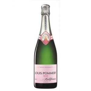 Louis Pommery NV Brut Rose Sparkling Wine, California