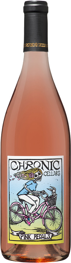 2018 Chronic Pink Pedals Rosé
