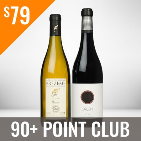 90+ Point Wine Club Twelve Shipment Membership