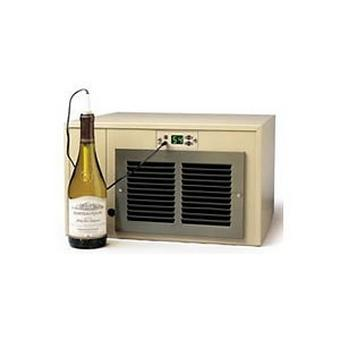 Breezaire WKCE-2200 Compact Wine Cellar Cooling Unit with Digital Temperatue Display(Max Room Size