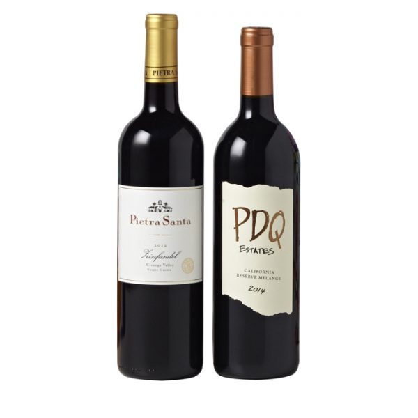 California Wine Series Membership - 2 Btls Qtrly Red Only