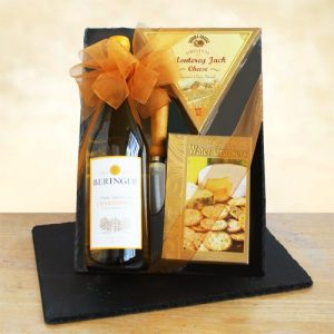 Chardonnay Fine Wine & Cheese - Best Graduation Gifts by Gift Baskets