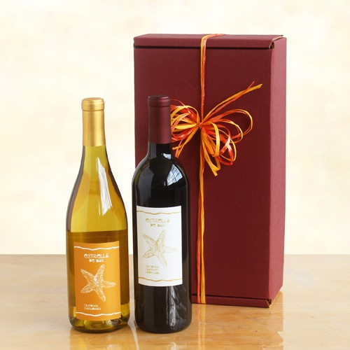 Double Trouble Wine Celebration - Wine Gift Baskets by Gift Baskets
