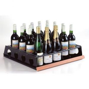 EuroCave Rolling Tasting Shelf (Performance & Comfort Series) (Sapele)