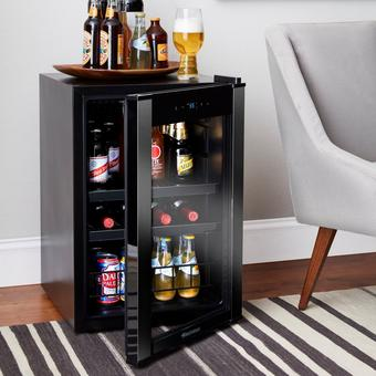 Evolution Series Wine & Beverage Center | Stainless Steel Finish | Digital Thermostat With LED Display | Energy Efficient Compressor
