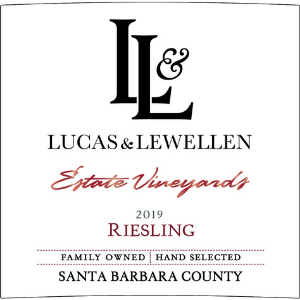 Lucas & Lewellen Estate Vineyards 2019 Santa Barbara County Riesling