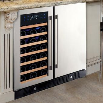 N'Finity Pro Hdx Wine And Beverage Center | 35 Bottle | LED Door Display | Touchscreen Controls