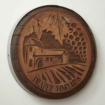 Personalized Rustic Wine Barrel Wall Decor
