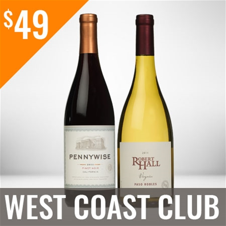 West Coast Wine Club Twelve Shipment Membership