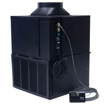 Wine Guardian Air Cooled Ducted System - Vertical D050 (1/2 Ton)