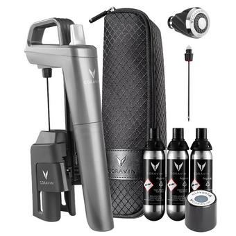 Coravin Model Five Wine Preservation System Plus Pack with Aerator and Fast Pour Needle