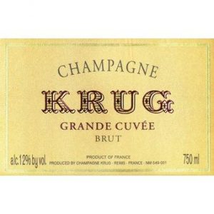 Krug Champagne Grande Cuvee NV