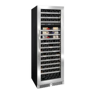 Vinothque Caf Dual Zone MAX Wine Cellar with Steady-Temp™ Cooling (Stainless Steel Door)