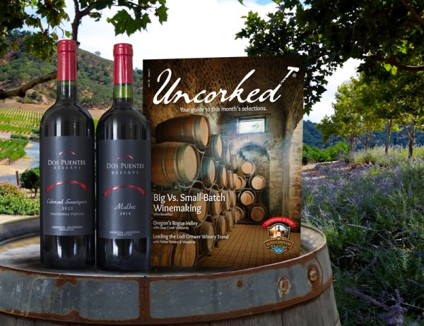 Wine Club Gift - International Series - 6 Month Gift, 1 Red & 1 White