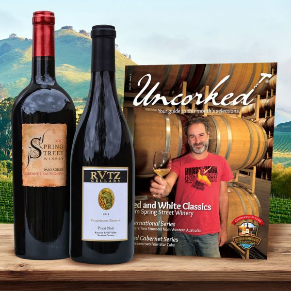 Wine Club - Simply Red Wine Club - Quarterly Delivery