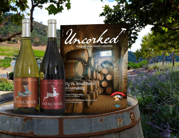 Wine Club of the Month Pacific Northwest Series - 1 Red & 1 White Wine