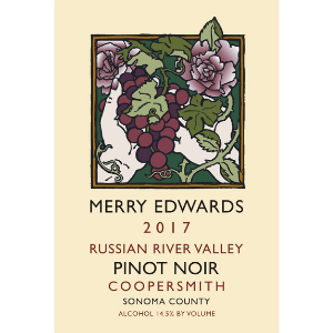 Merry Edwards Winery 2017 Russian River Valley Coopersmith Pinot Noir