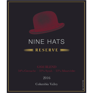 Nine Hats 2016 Columbia Valley Washington Reserve GSM
