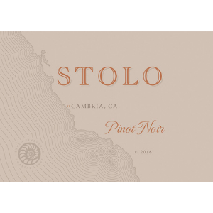 Stolo Vineyards 2018 Cambria San Luis Obispo County Estate Pinot Noir